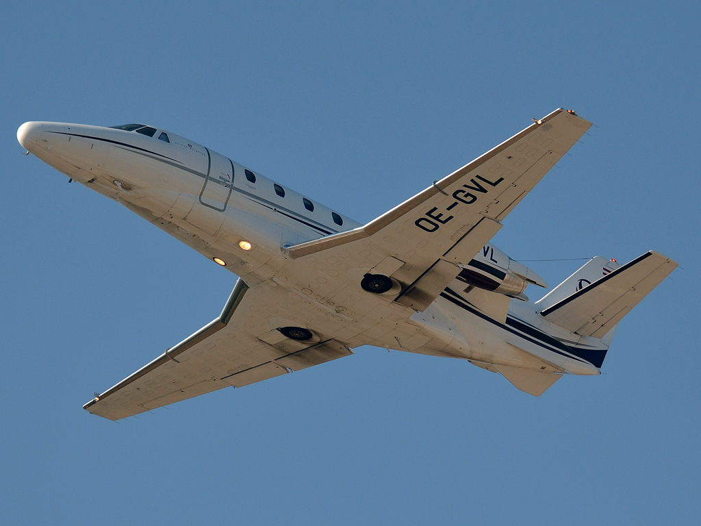 Cessna 560XLS Citation Prince Aviation OE-GVL Split_Resnik (SPU/LDSP) August_04_2012