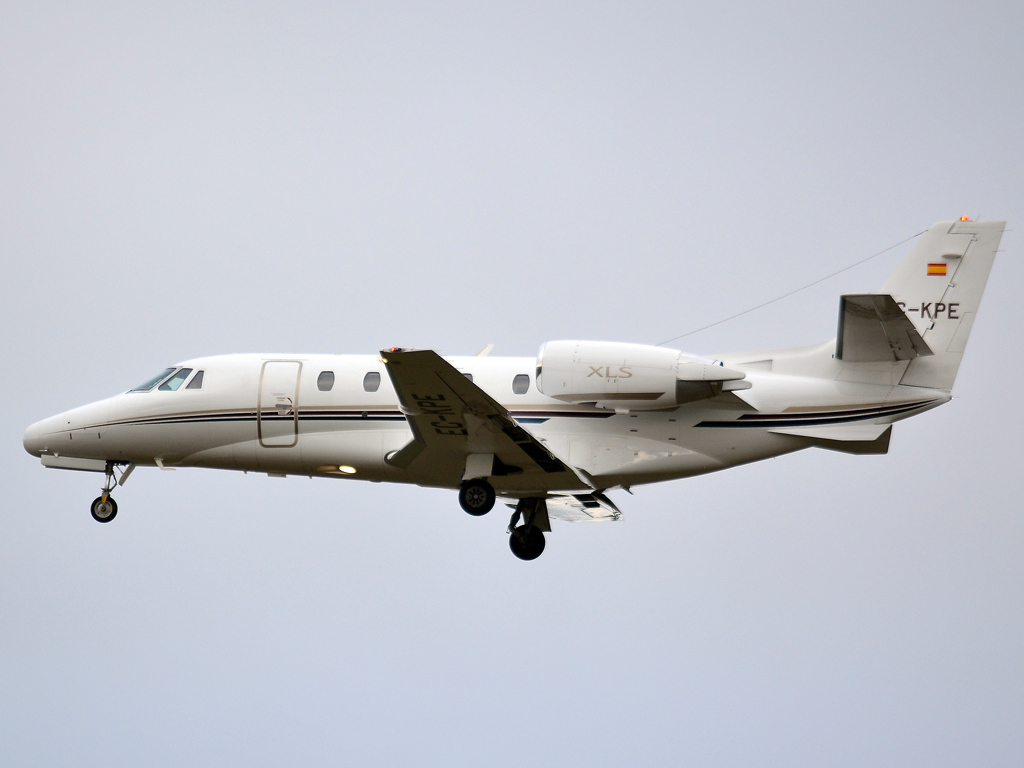 Cessna 560XL Citation XLS Corporate Jet XXI EC-KPE Prague_Ruzyne (PRG/LKPR) December_23_2011
