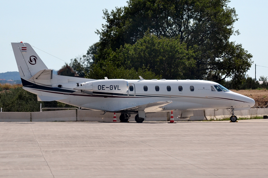 Cessna 560XL Citation XLS Prince Aviation OE-GVL Split_Resnik (SPU/LDSP) July_30_2011