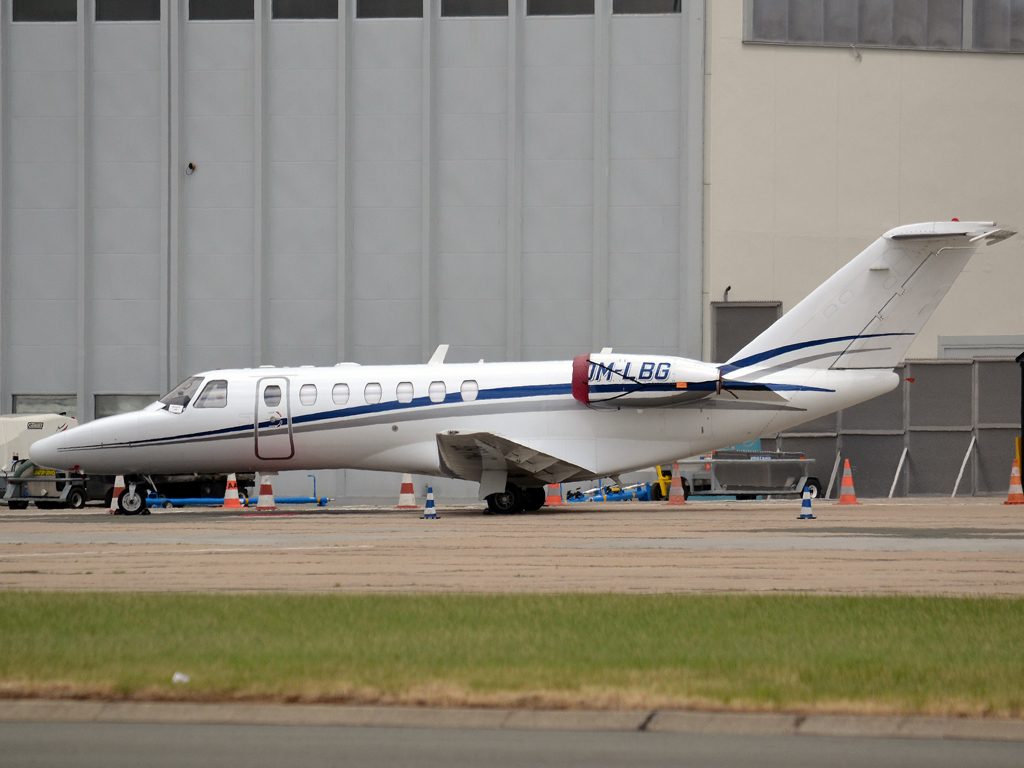 Cessna 525B Citation CJ3 Opera Jet OM-LBG Paris_Le_Bourget (LBG/LFPB) June_25_2011
