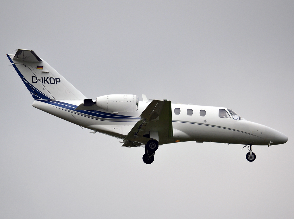 Cessna 525 CitationJet Private D-IKOP Prague_Ruzyne (PRG/LKPR) April_28_2013