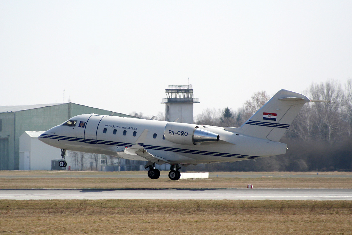 Canadair CL-600-2B16 Challenger 604 Croatia Government 9A-CRO Zagreb_Pleso (ZAG/LDZA) March_10_2012