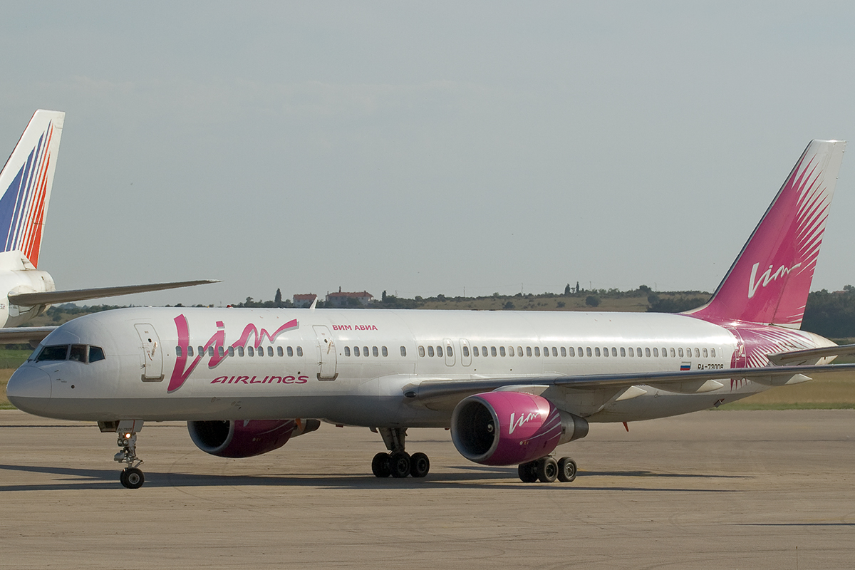 B757-230 Vim Airlines RA-73008 Pula June_16_2007 B
