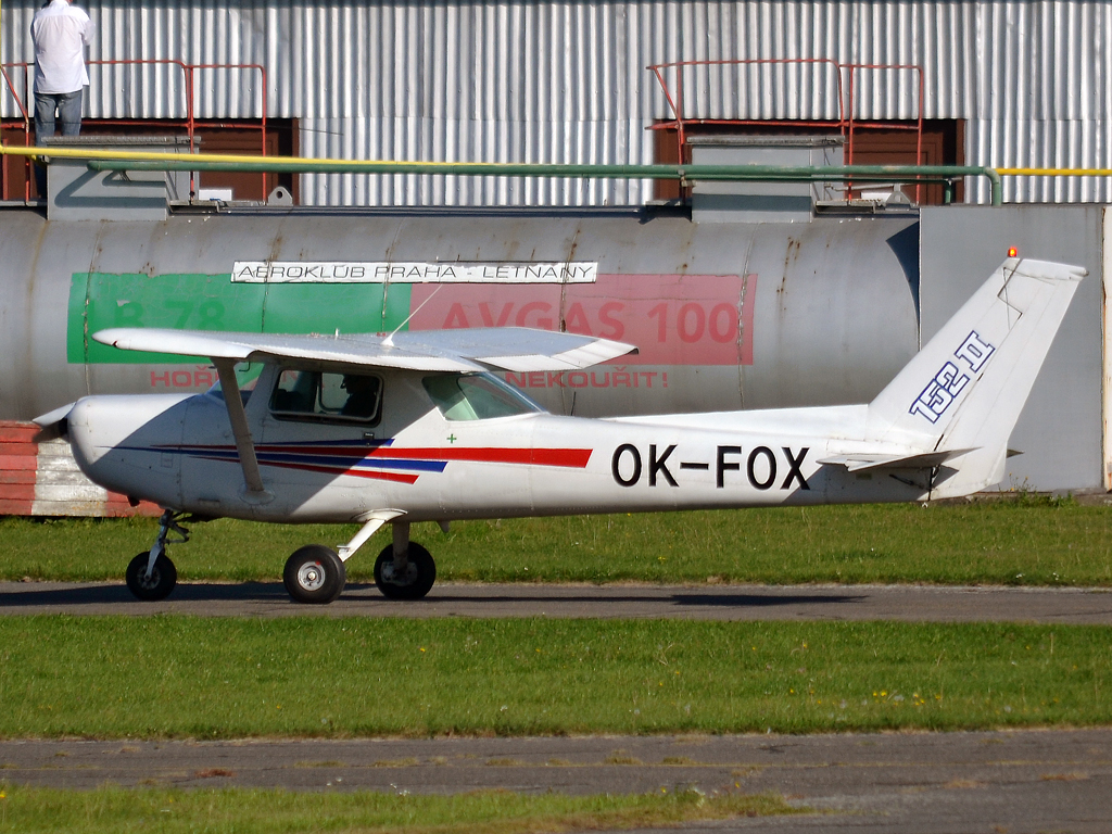 Cessna 152 Private OK-FOX Prague_Letnany (LKLT) October_2_2011