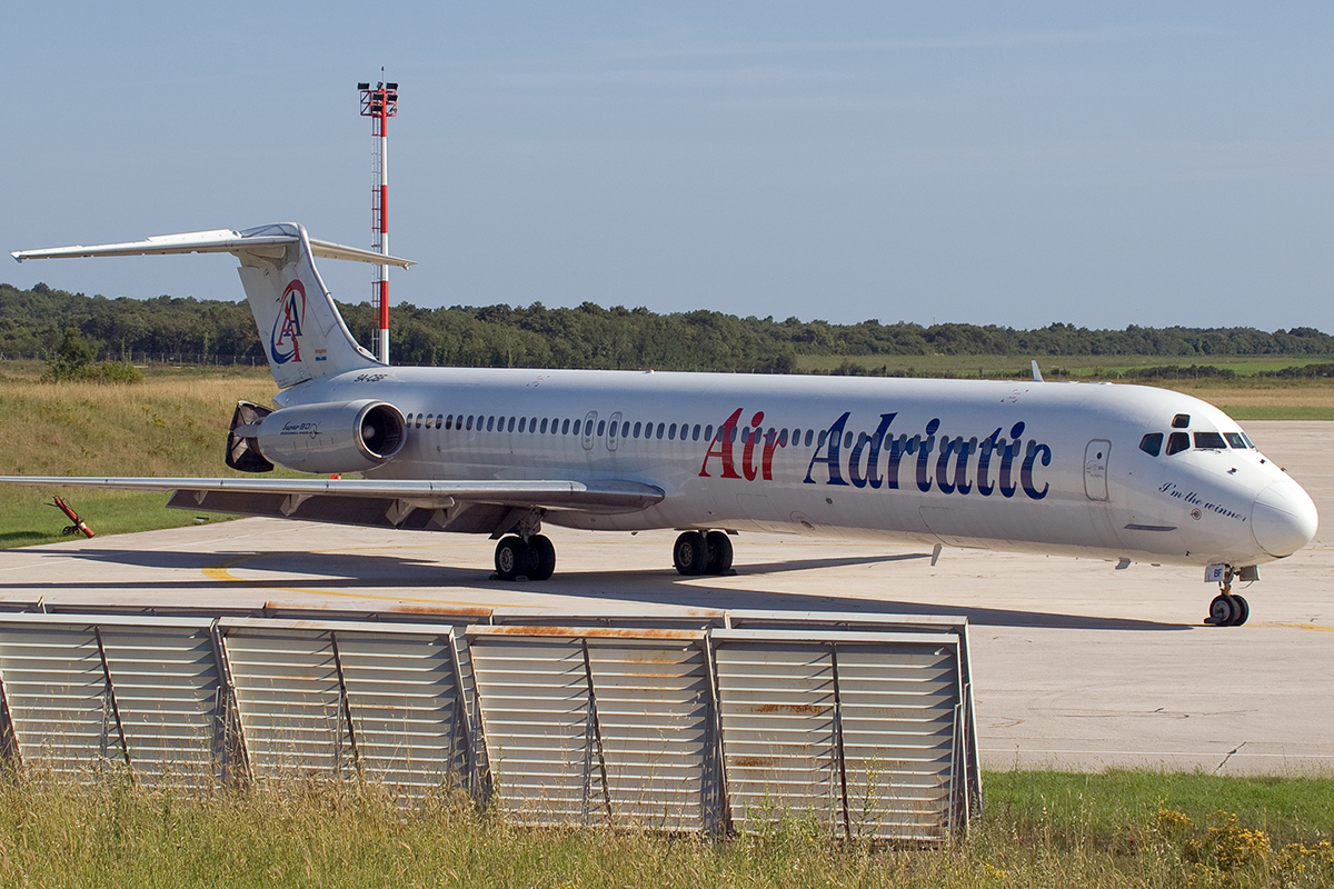 MD-82 (DC-9-82) Air Adriatic 9A-CBF Pula June_16_2007 B
