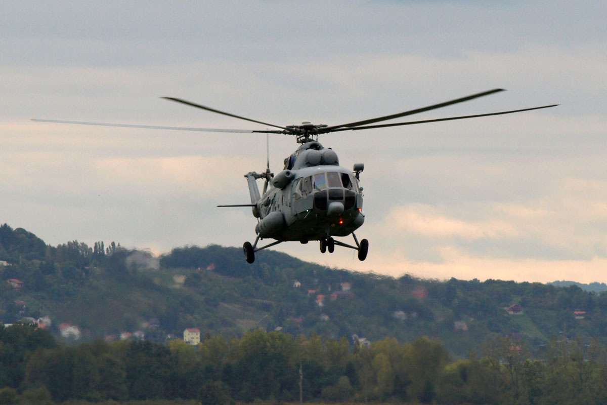 Mil Mi-171Sh Croatia Air Force 221 Zagreb_Lucko (LDZL) September_20_2008