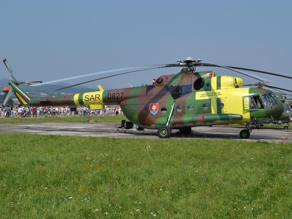 Mil Mi-17M Slovakia Air Force 0827 Sliac (SLD/LZSL) August_27_2011