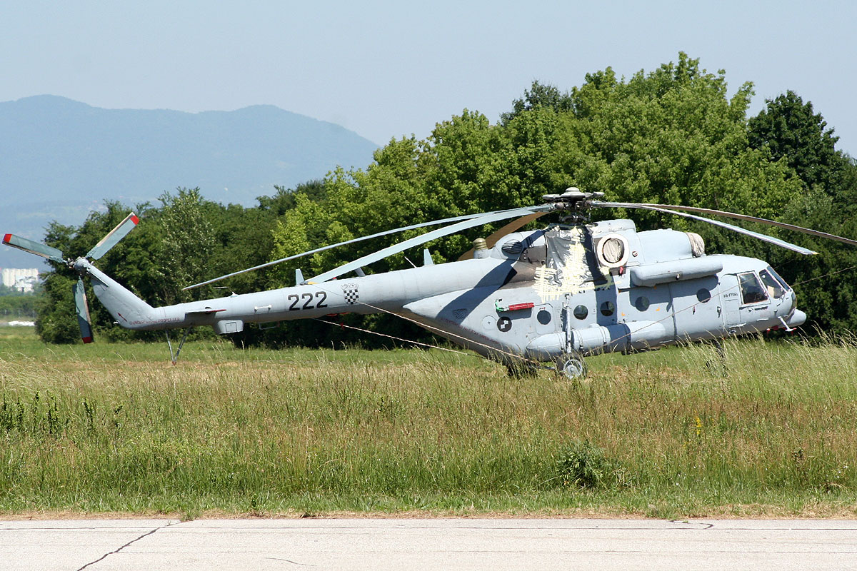 Mil Mi-171Sh Croatia Air Force HRZ 222 Zagreb_Pleso (ZAG/LDZA) May_26_2011