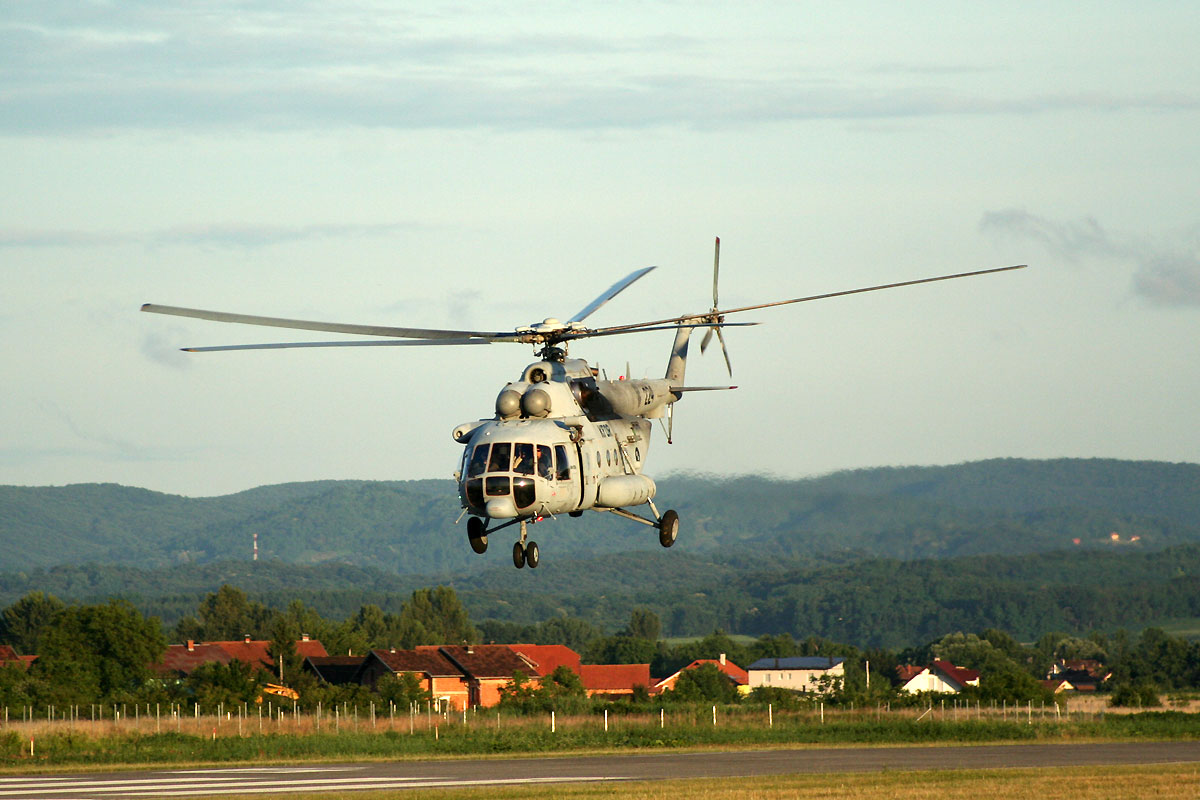 Mil Mi-171Sh Croatia Air Force HRZ 224 Varazdin (LDVA) June_19_2011