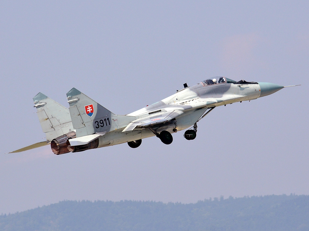 MiG-29AS Slovakia Air Force 3911 Sliac (SLD/LZSL) August_27_2011