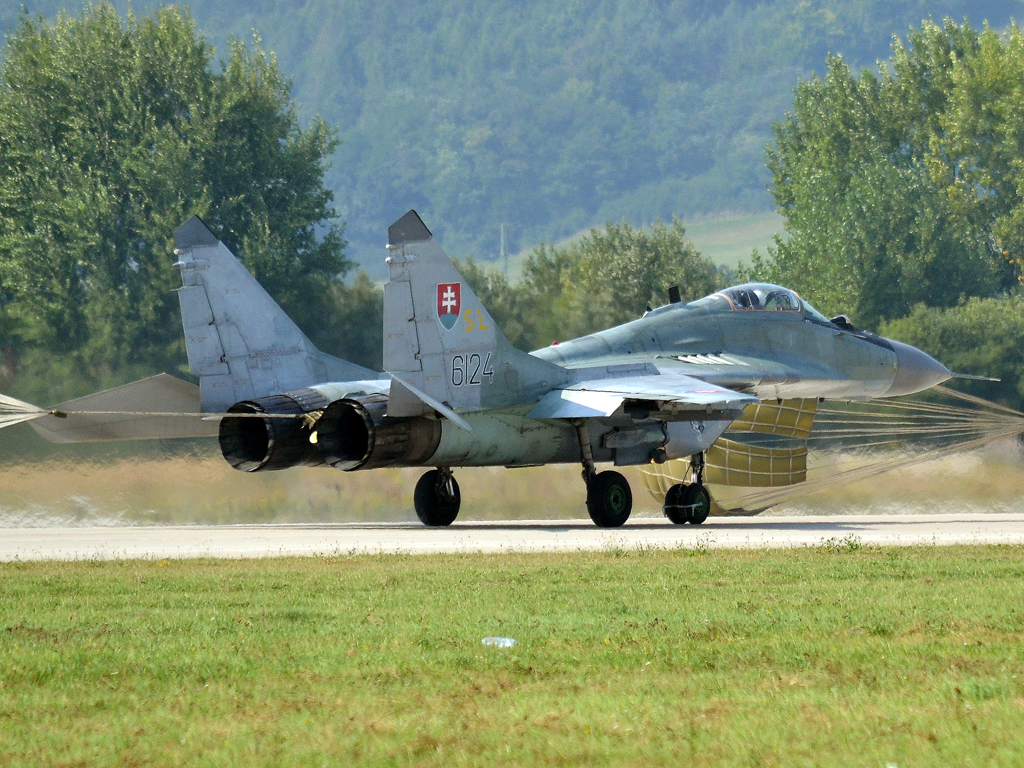 MiG-29AS Slovakia Air Force 6124 Sliac (SLD/LZSL) August_27_2011