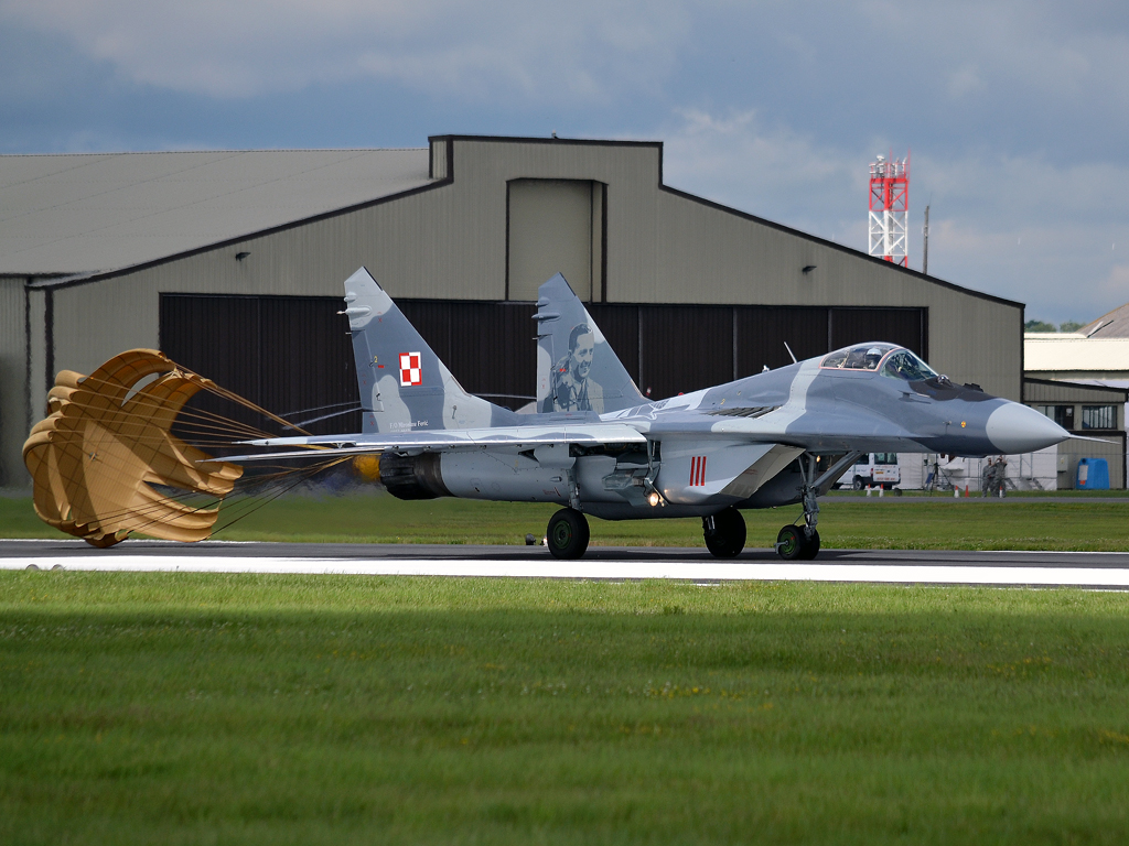 MiG-29A Poland Air Force 56 Fairford (FFD/EGVA) July_07_2012