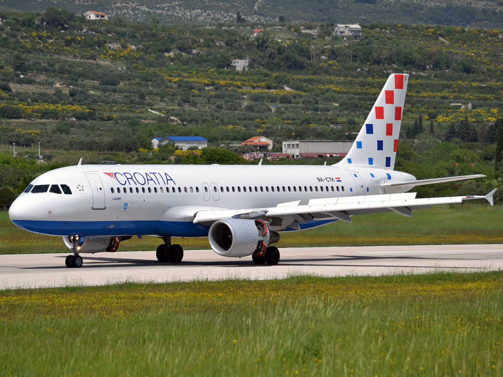 A320-214 Croatia Airlines 9A-CTK Split_Resnik (SPU/LDSP) May_02_2012