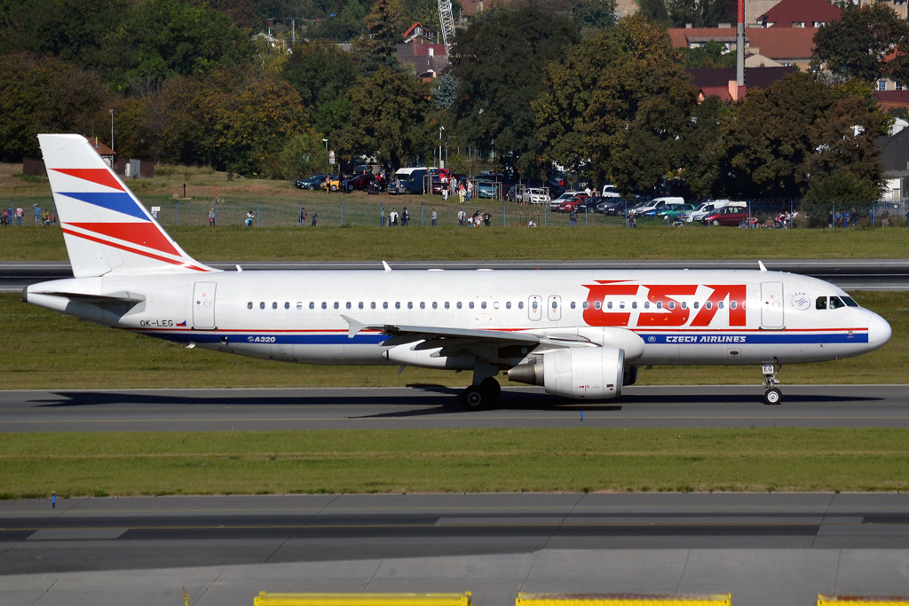A320-214 CSA Czech Airlines OK-LEG Prague_Ruzyne (PRG/LKPR) October_2_2011