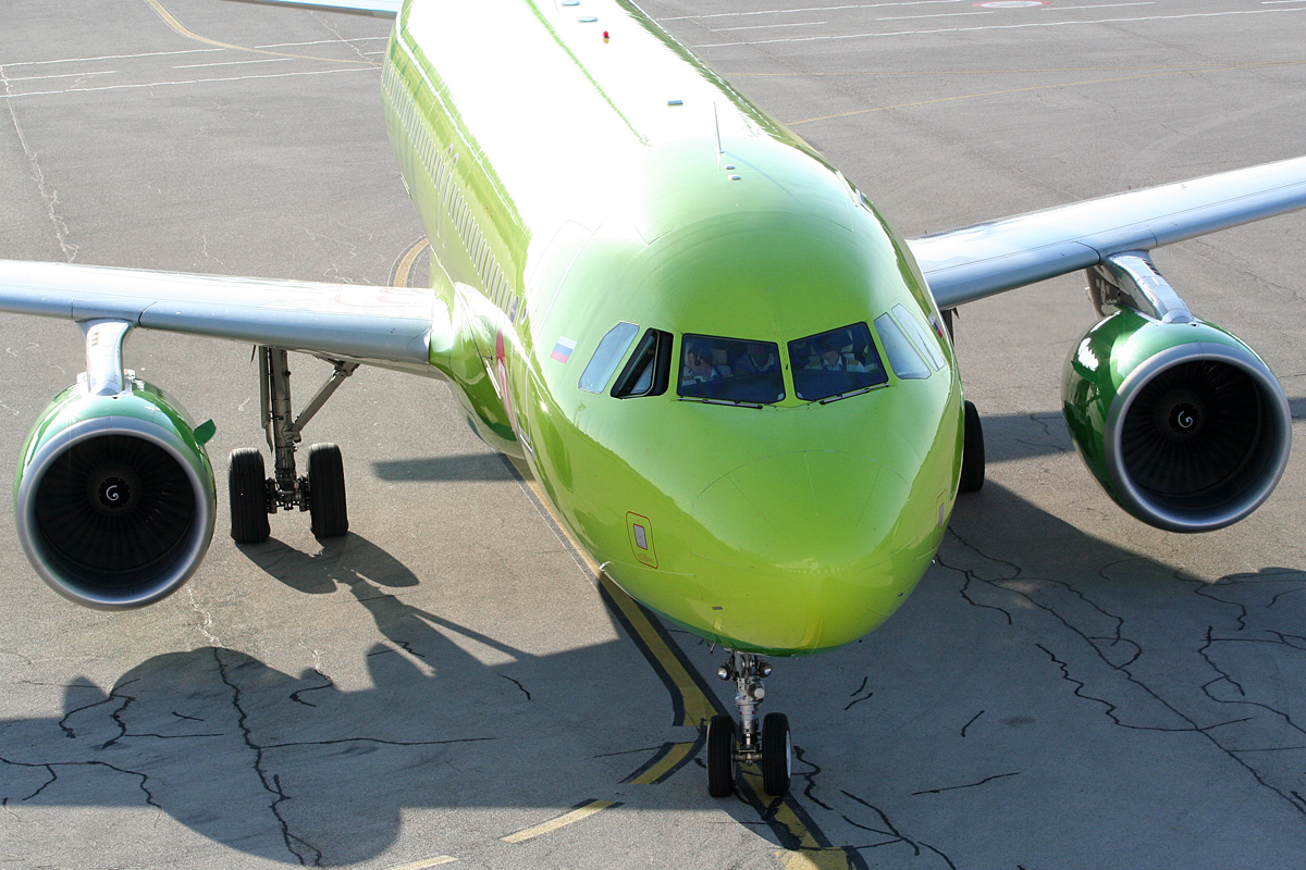 A320-214 S7 Airlines VQ-BES Pula (LDPL/PUY) July_14_2012