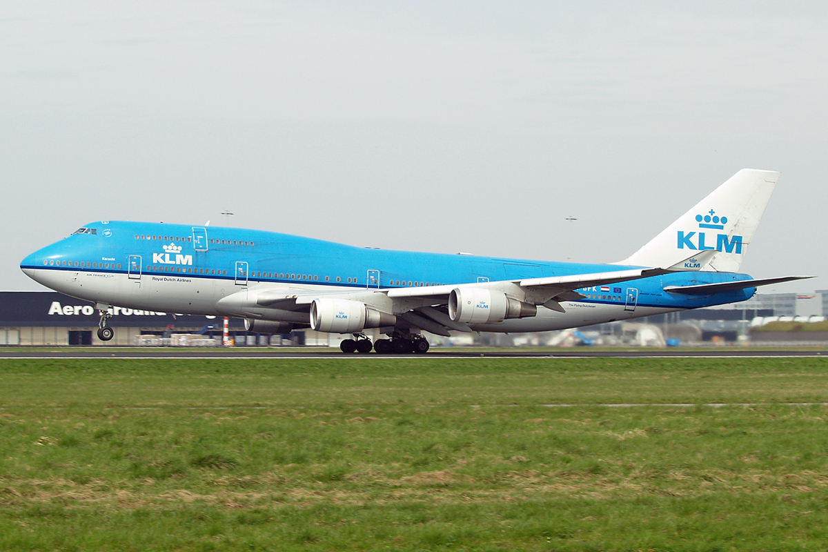 B747-406M KLM - Royal Dutch Airlines PH-BFK Amsterdam Schiphol April_21_2006