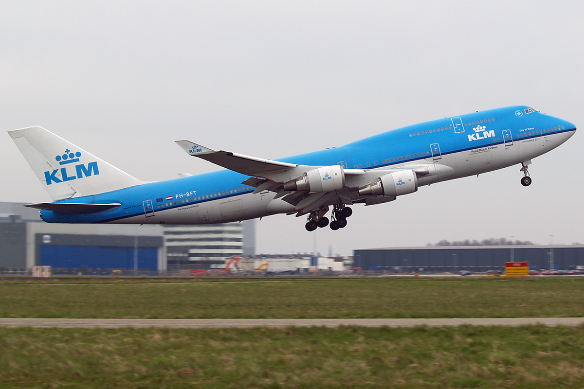 B747-406M KLM - Royal Dutch Airlines PH-BFT Amsterdam Schiphol April_15_2006