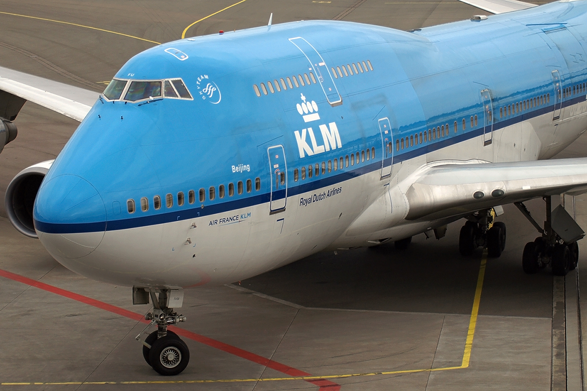 B747-406M KLM - Royal Dutch Airlines PH-BFU Amsterdam_Schiphol March_17_2008