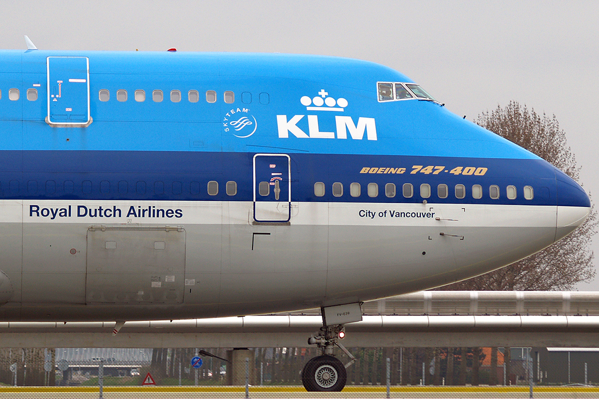 B747-406M KLM - Royal Dutch Airlines PH-BFV Amsterdam Schiphol April_20_2006