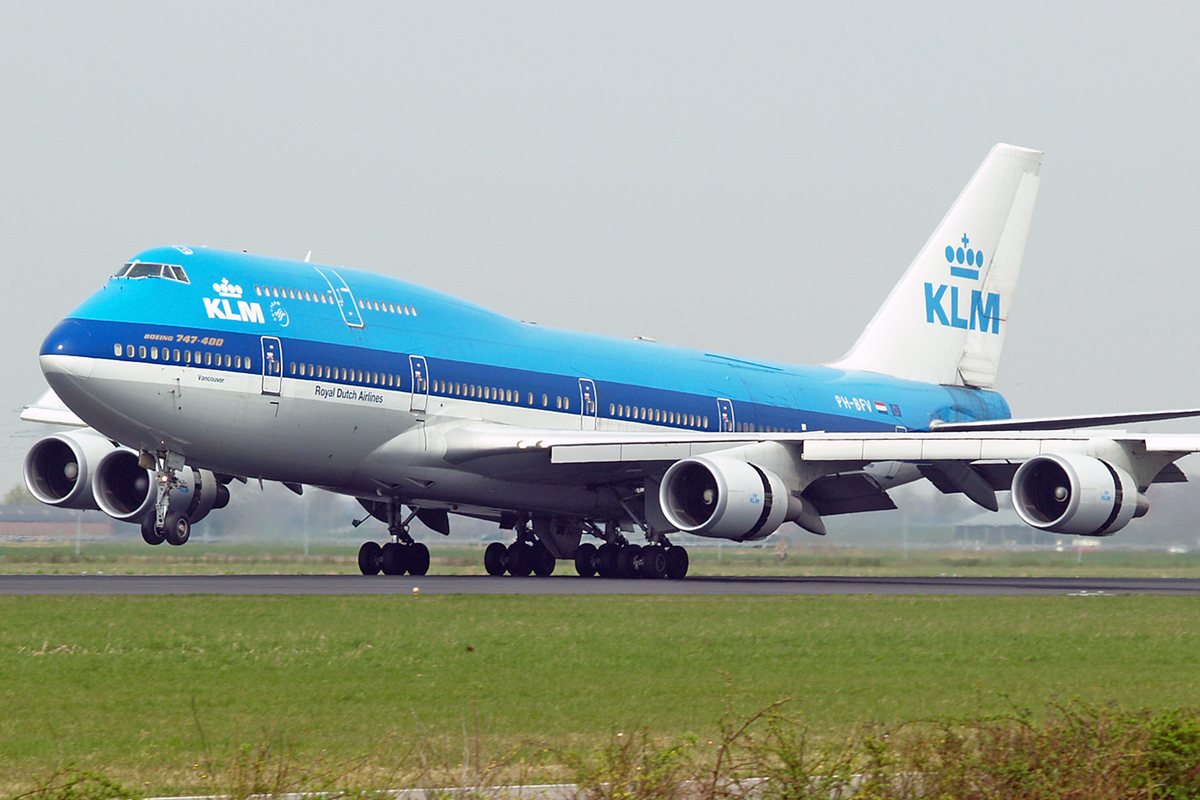 B747-406M KLM - Royal Dutch Airlines PH-BFV Amsterdam Schiphol April_21_2006