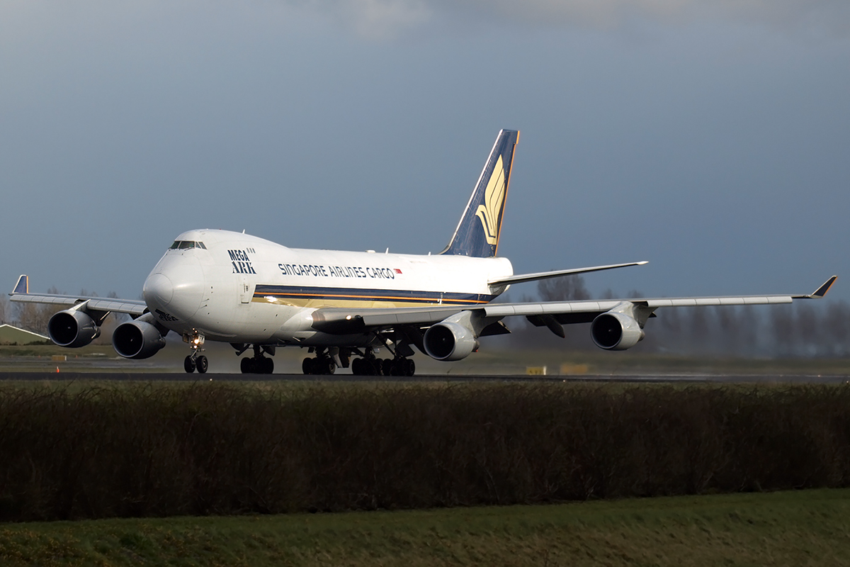 B747-412F/SCD Singapore Airlines Cargo 9V-SFM Amsterdam_Schiphol March_24_2008