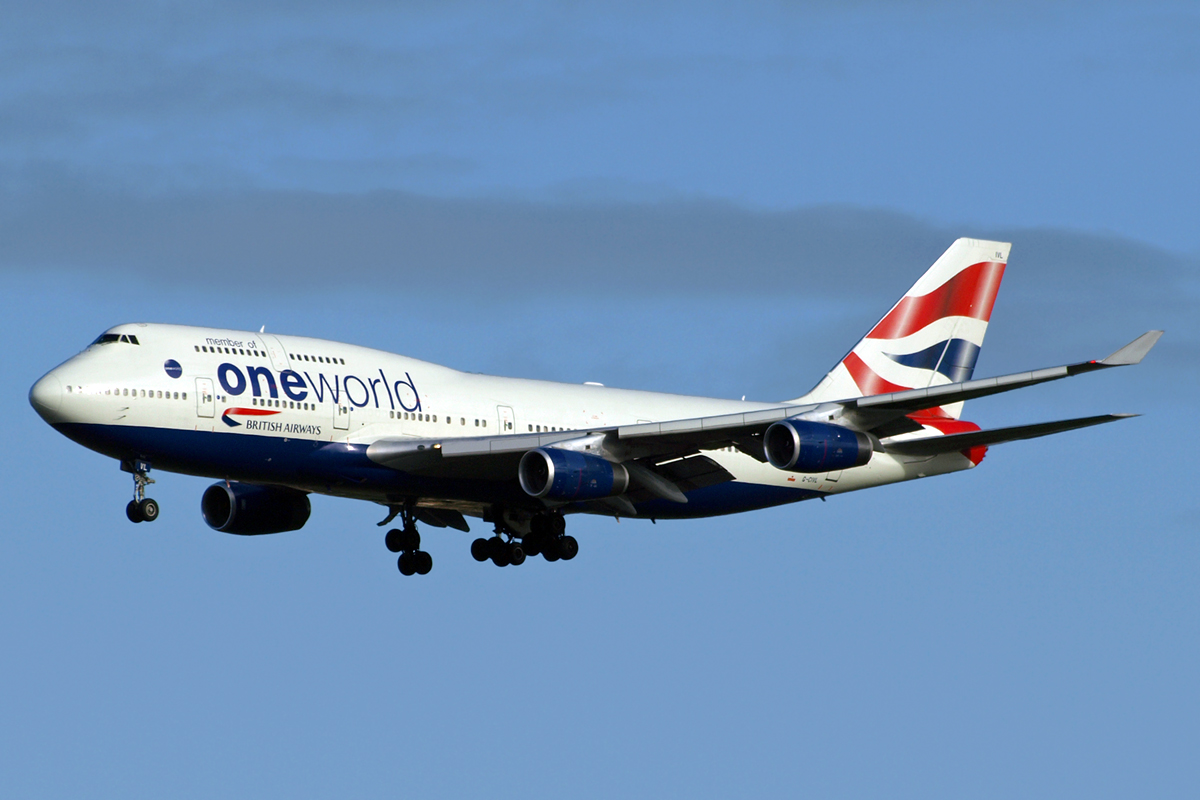 B747-436 Oneworld (British Airways) G-CIVL London_Heathrow November_10_2010