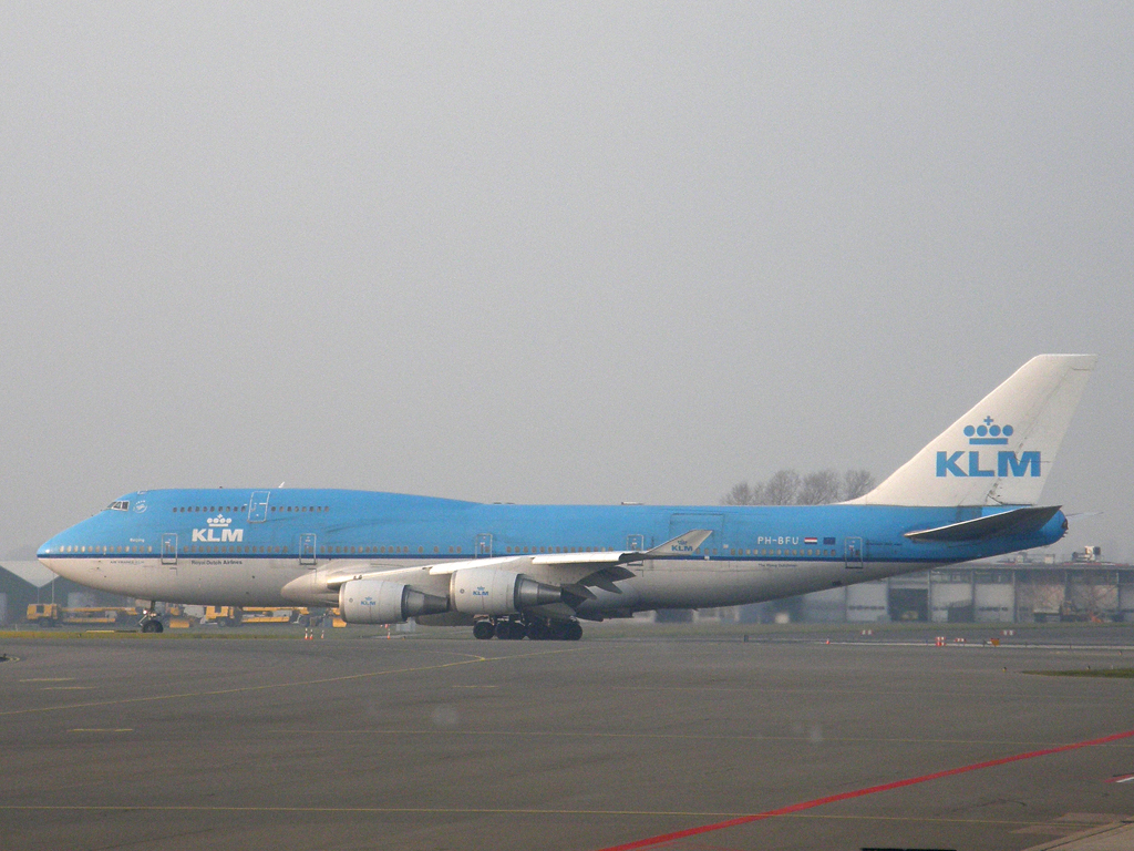 B747-406M KLM - Royal Dutch Airlines PH-BFU Amsterdam_Schiphol March_16_2011