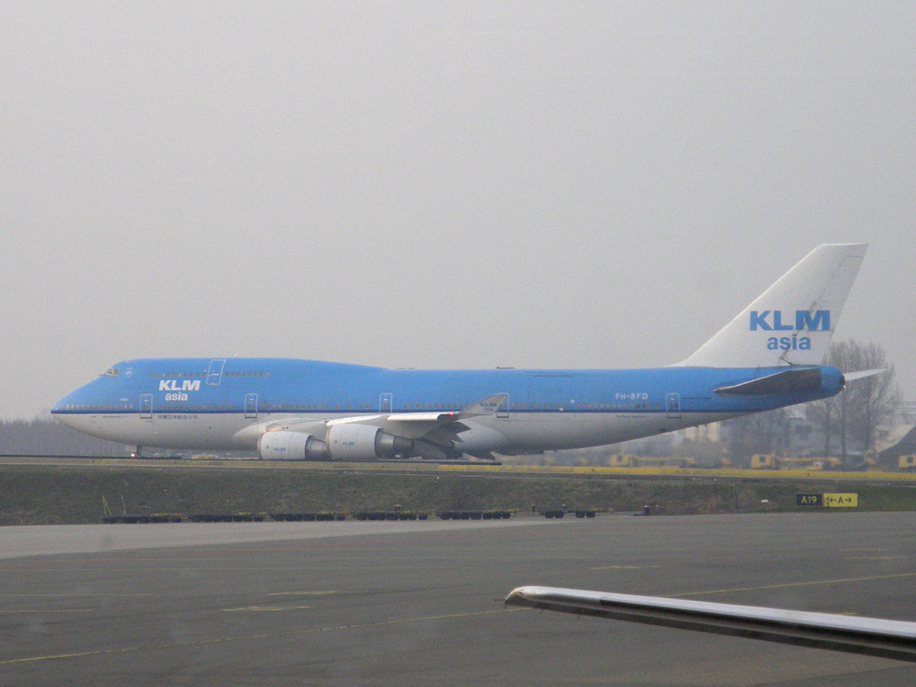B747-406M KLM Asia PH-BFD Amsterdam_Schiphol March_16_2011