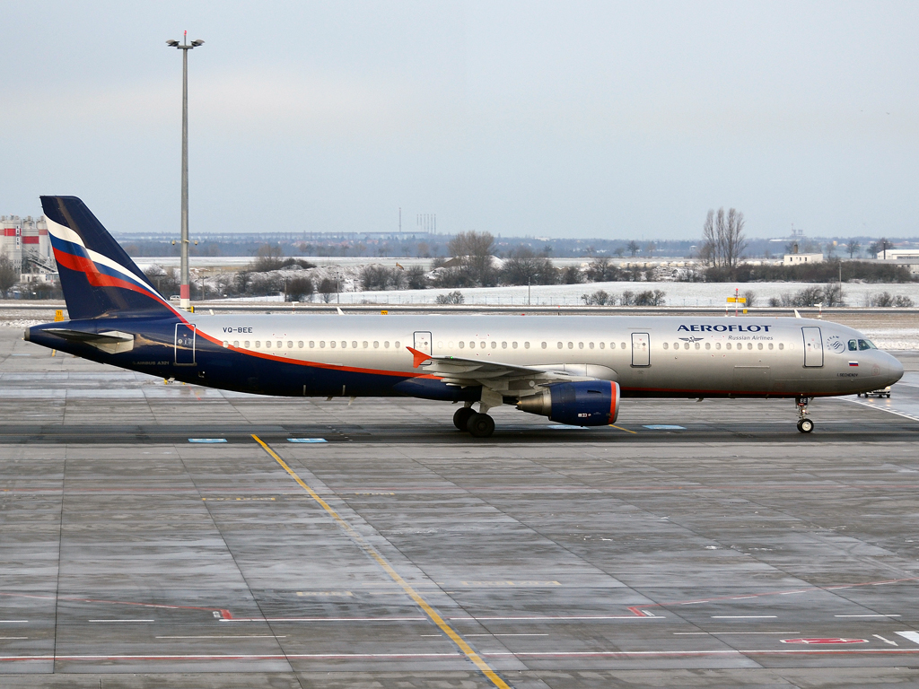 A321-211 Aeroflot Russian Airlines VQ-BEE Prague_Ruzyne (PRG/LKPR) January_12_2013