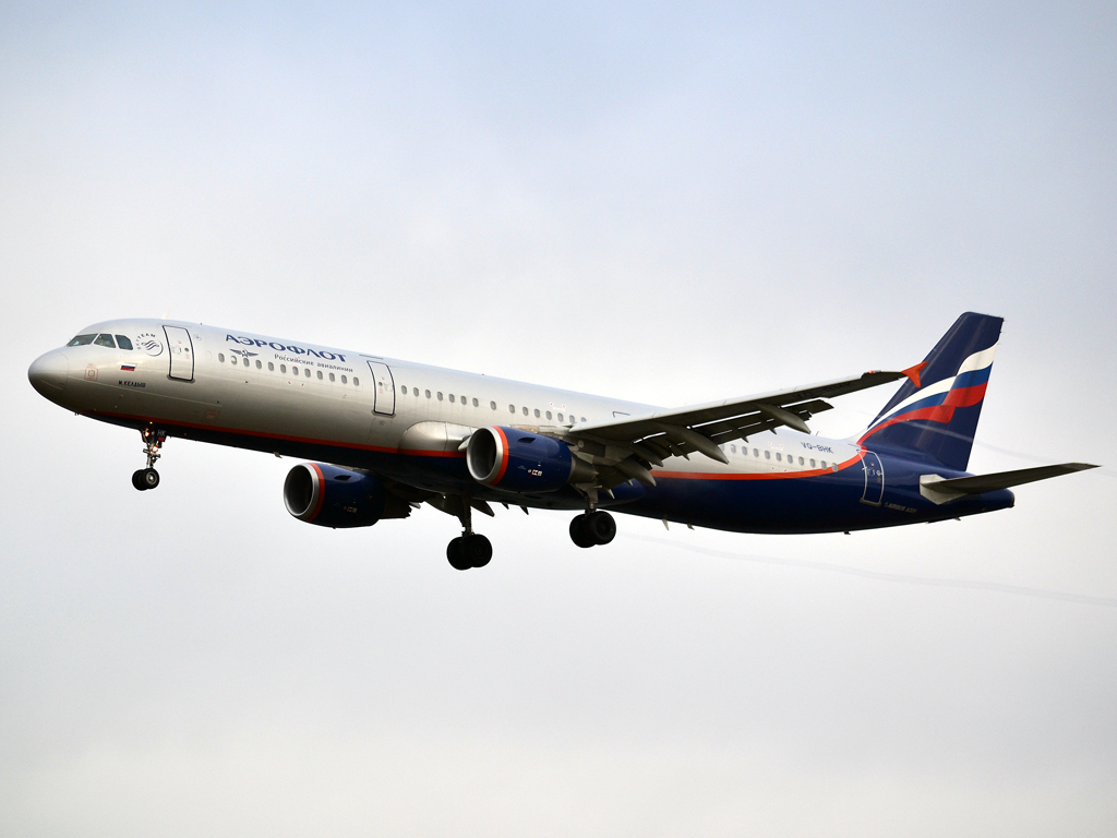 A321-211 Aeroflot Russian Airlines VQ-BHK Prague_Ruzyne (PRG/LKPR) December_23_2011