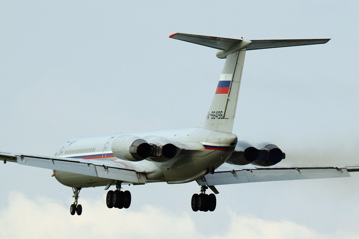 Ilyushin Il-62M Russia Air Force RA-86496 Zagreb_Pleso (ZAG/LDZA) June_4_2007