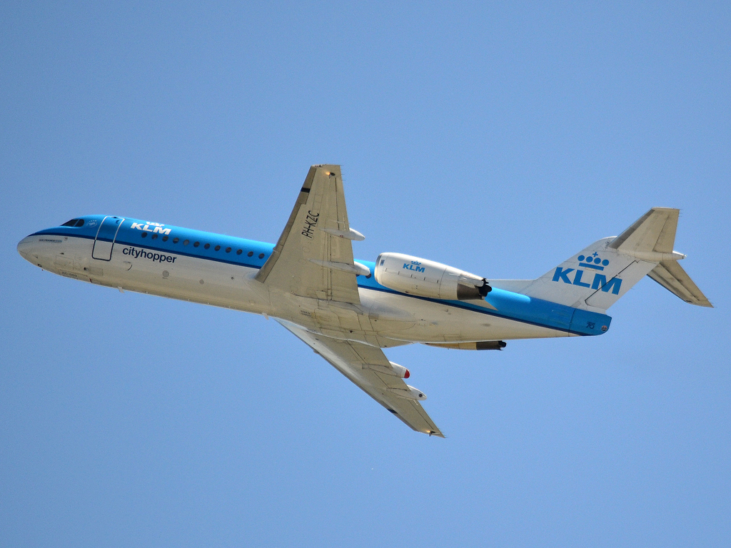 Fokker 70 (F-28-0070) KLM Cityhopper PH-KZC Frankfurt_Main (FRA/EDDF) May_25_2012