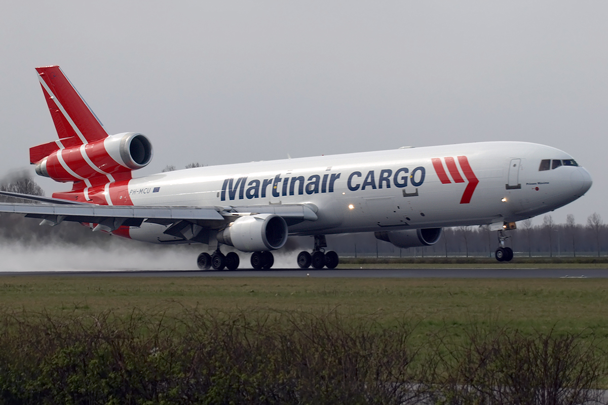 MD-11F Martinair Cargo PH-MCU Amsterdam_Schiphol March_24_2008