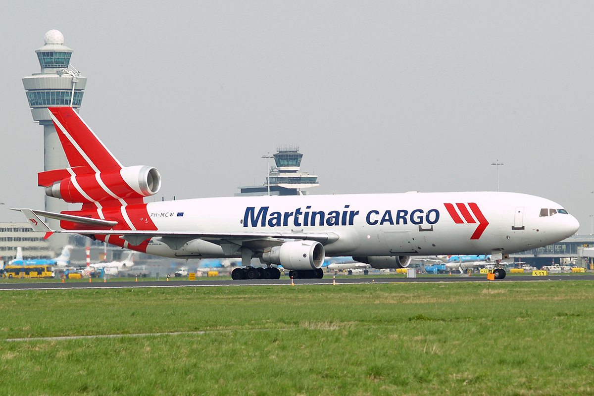 MD-11F Martinair Cargo PH-MCW Amsterdam Schiphol April_21_2006