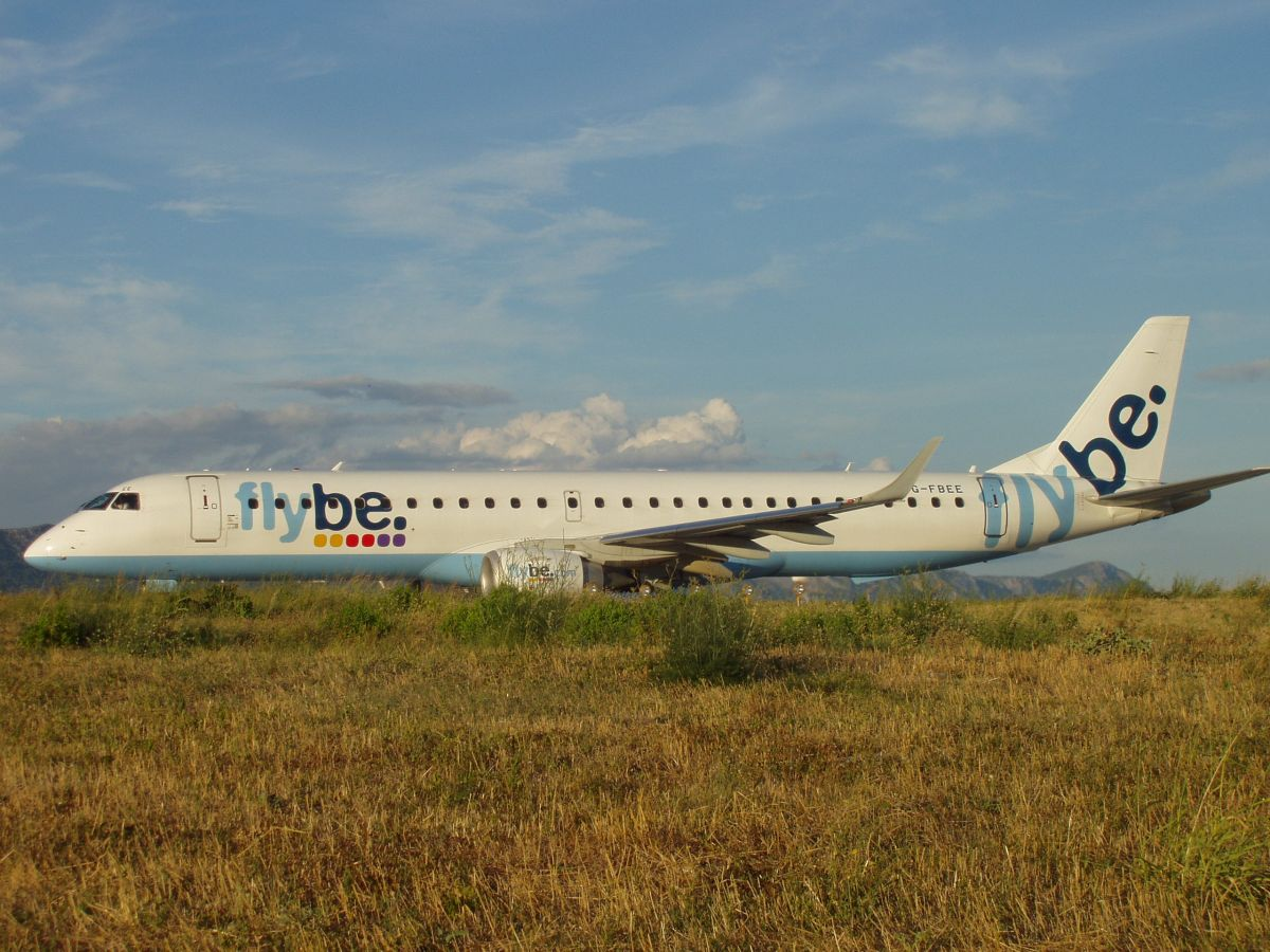 ERJ-195-200LR Flybe - British European G-FBEE Split_Resnik (SPU/LDSP) August_9_2008