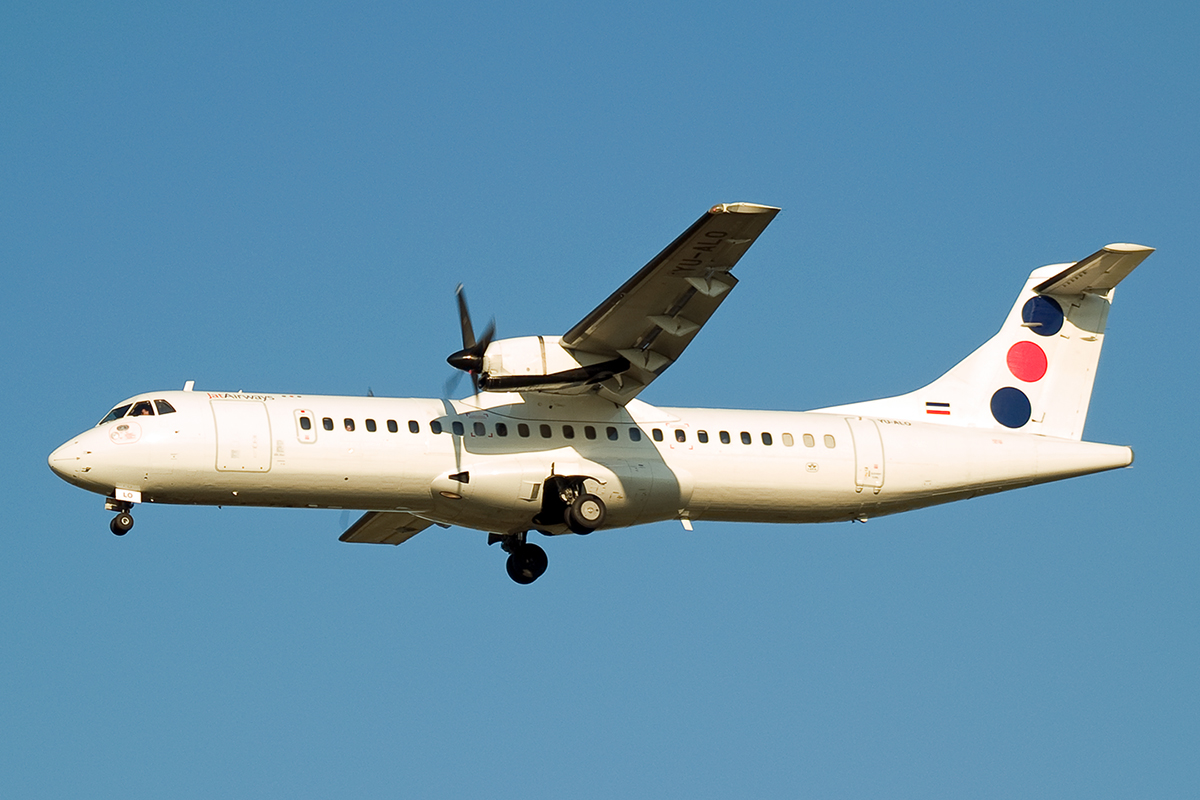 ATR-72-202 Jat Airways YU-ALO Wien_Schwechat (VIE/LOWW) April_8_2007