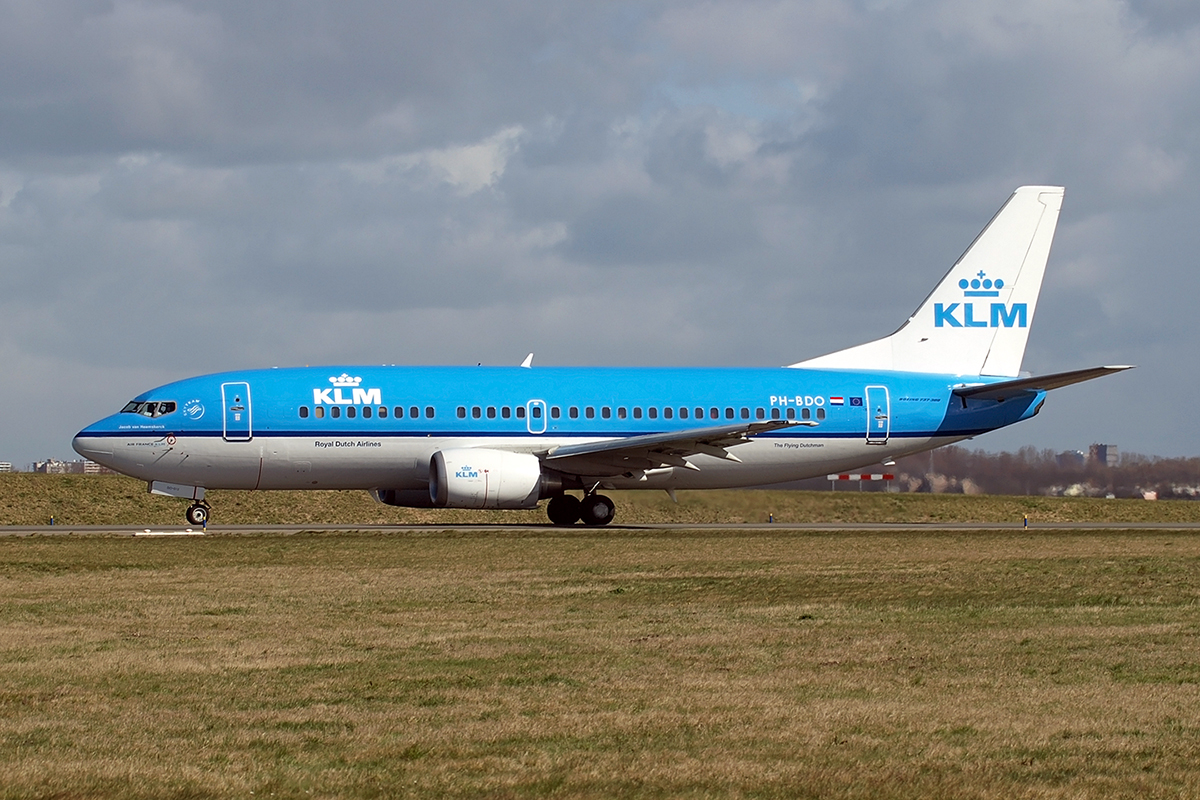 B737-306 KLM - Royal Dutch Airlines PH-BDO Amsterdam_Schiphol March_19_2008