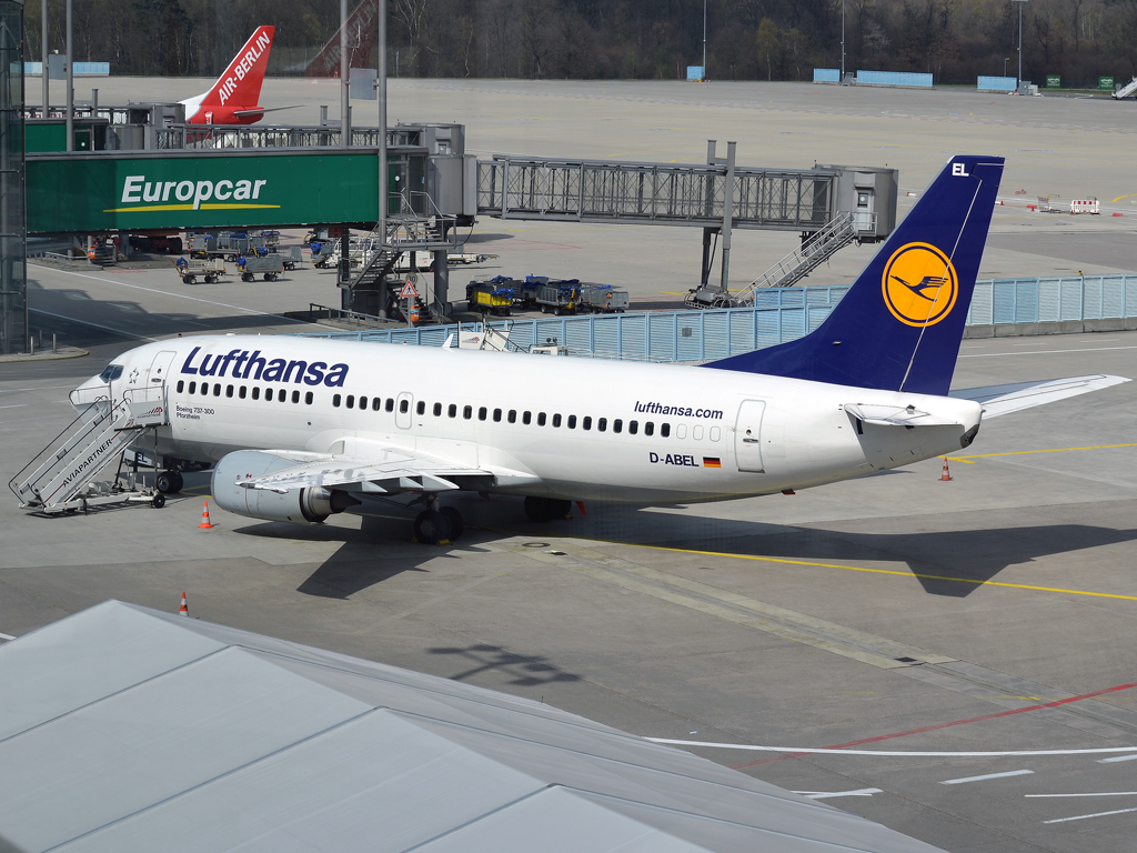 B737-330 Lufthansa D-ABEL Cologne_Bonn (CGN/EDDK) April_08_2012
