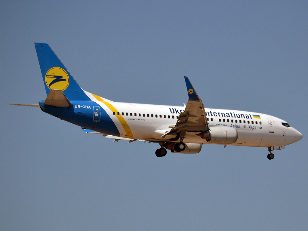 B737-36N Ukraine International Airlines UR-GBA Frankfurt_Main (FRA/EDDF) May_26_2012
