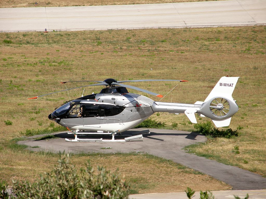 Eurocopter EC-135T-2+ Untitled M-WHAT Split_Resnik August_7_2010