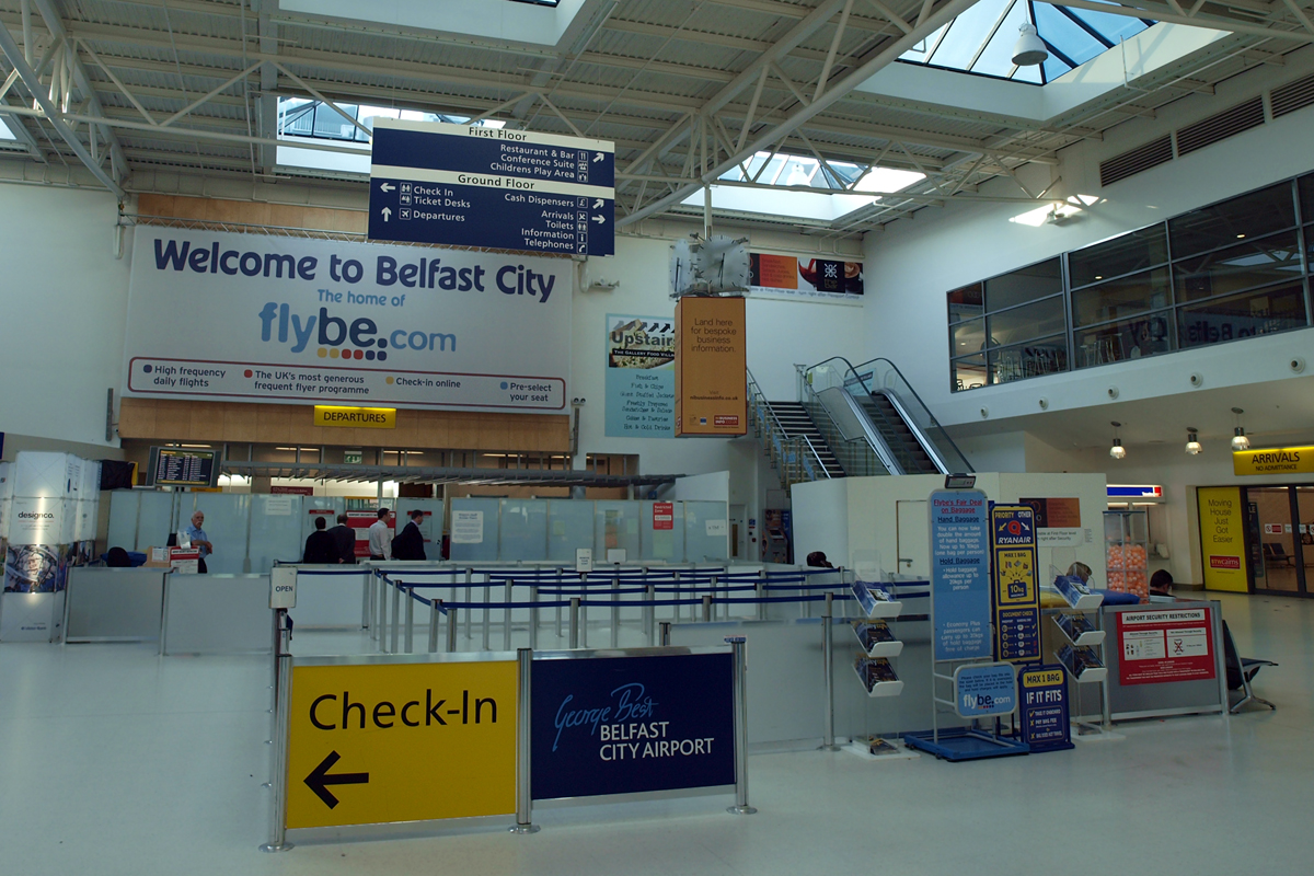 Belfast City Airport - George Best - Harbour/Sydenham April_20_2009