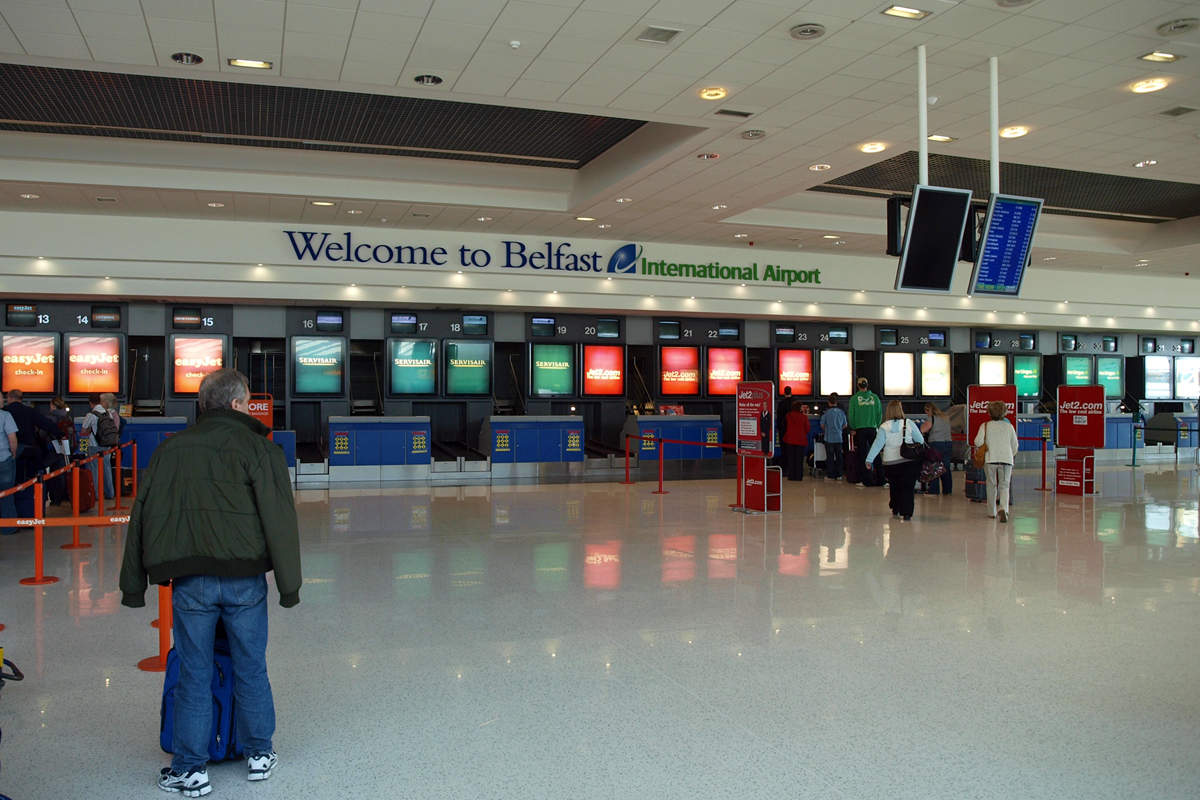 Belfast International Airport - Aldergrove April_20_2009