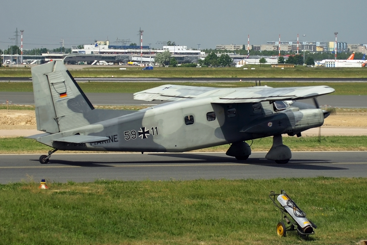 Dornier Do-28D-2 Skyservant Germany - Navy D-IRES / 59+11 Berlin_Schonefeld (SXF/EDDB) May_29_2008