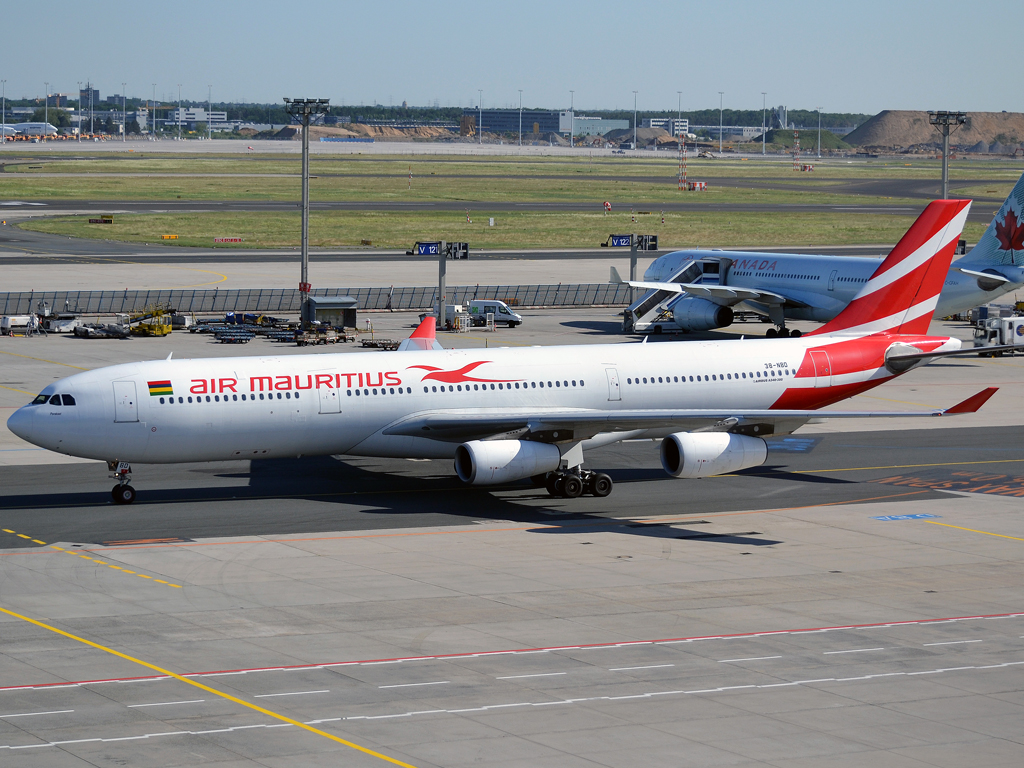 A340-313X Air Mauritius 3B-NBD Frankfurt_Main (FRA/EDDF) May_25_2012
