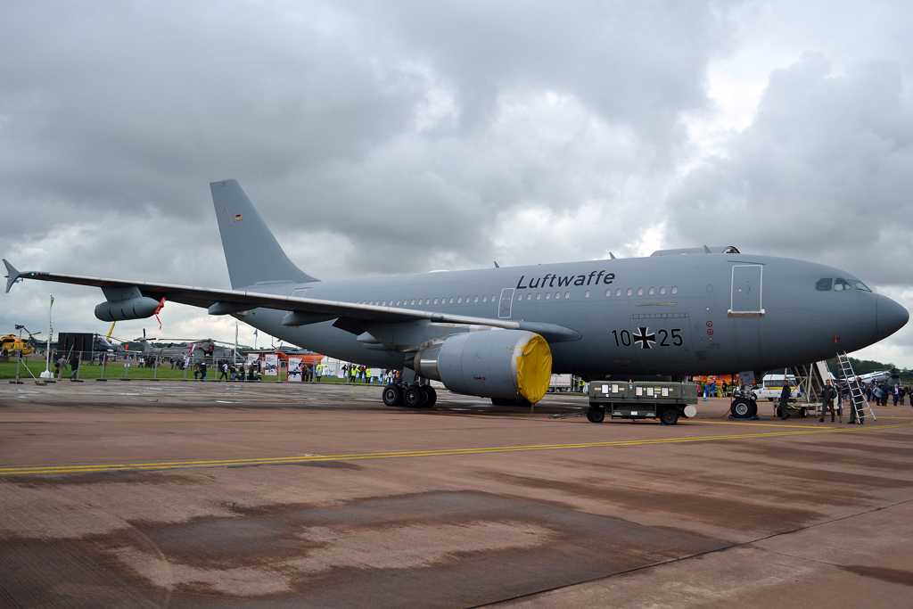 A310-304/MRTT Germany Air Force (Luftwaffe) 10+25 Fairford (FFD/EGVA) July_07_2012