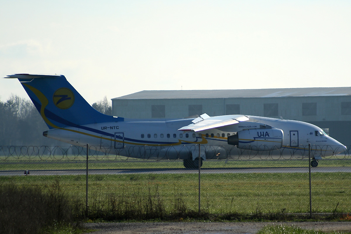 An-148-100B Ukraine International Airlines UR-NTC Zagreb_Pleso (ZAG/LDZA) December_03_2012