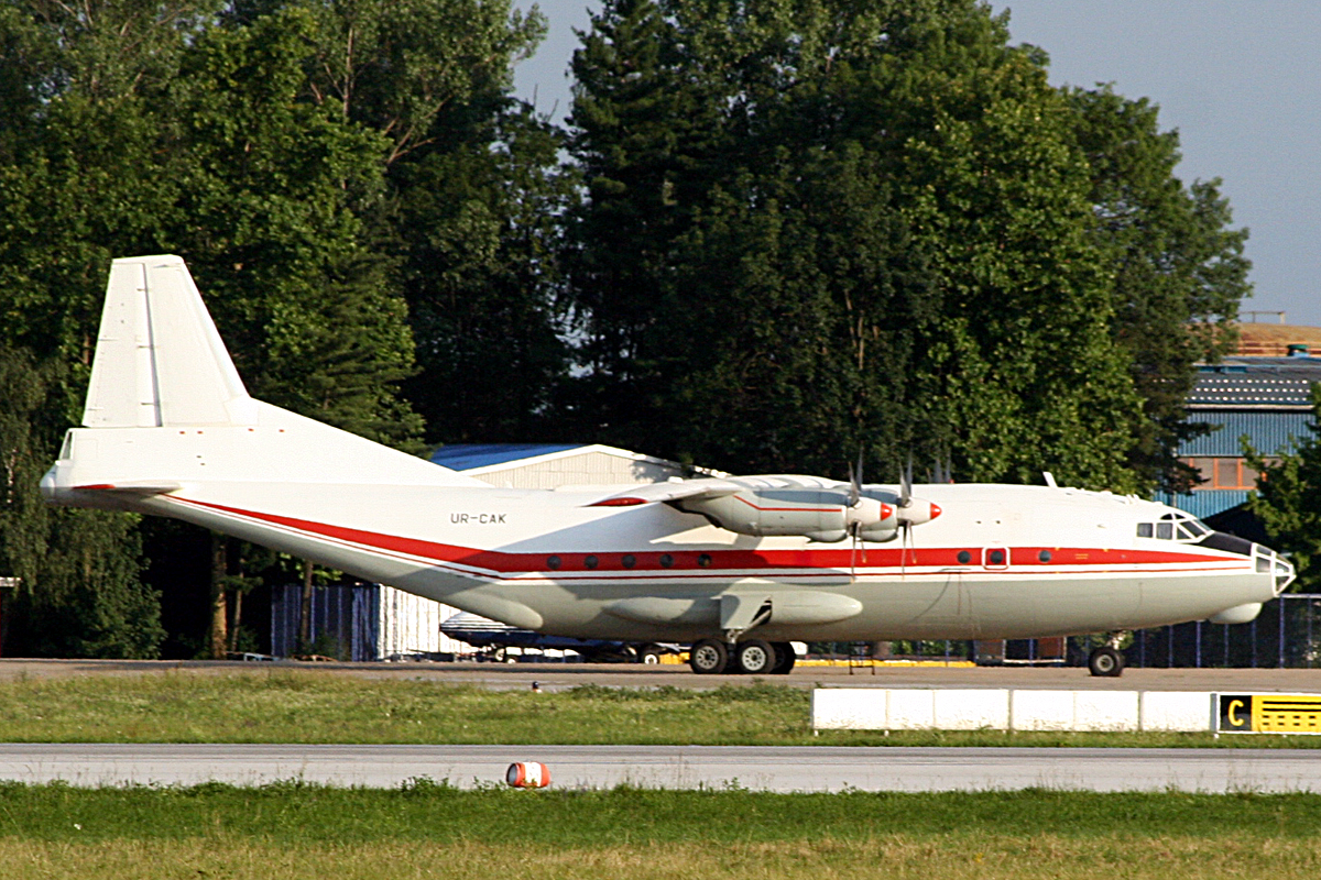 An-12BK Meridian Aviation UR-CAK Zagreb Pleso (ZAG/LDZA) June_14_2009