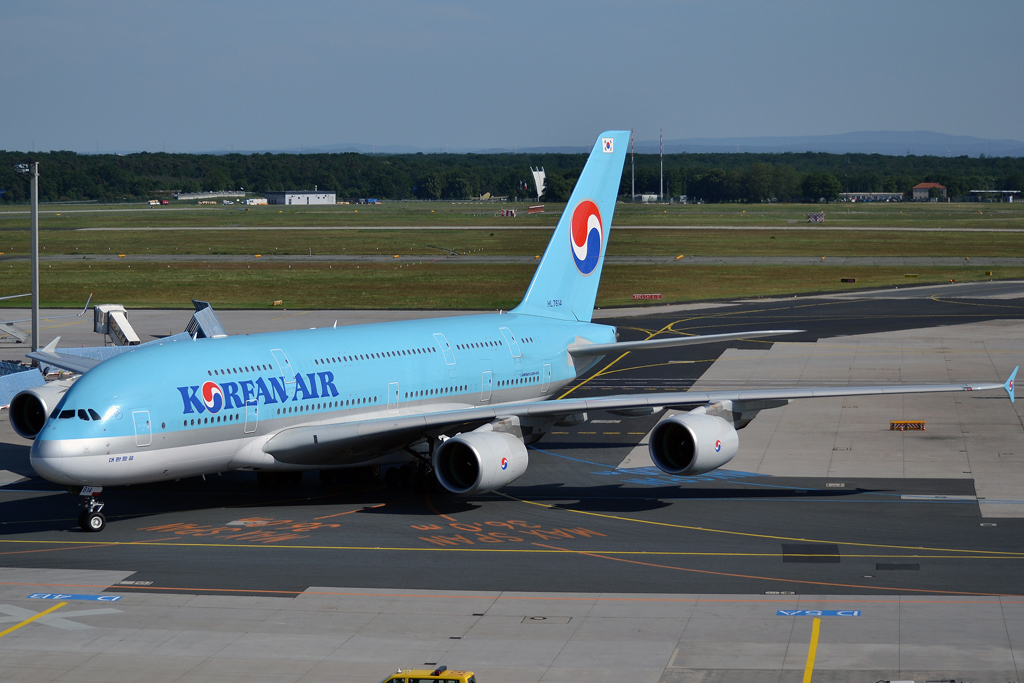 A380-861 Korean Air HL7614 Frankfurt_Main (FRA/EDDF) May_26_2012