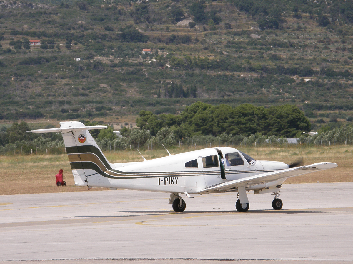 Piper PA-28RT-201 Arrow IV Private  I-PIKY Split_Resnik (SPU/LDSP) August_08_2009