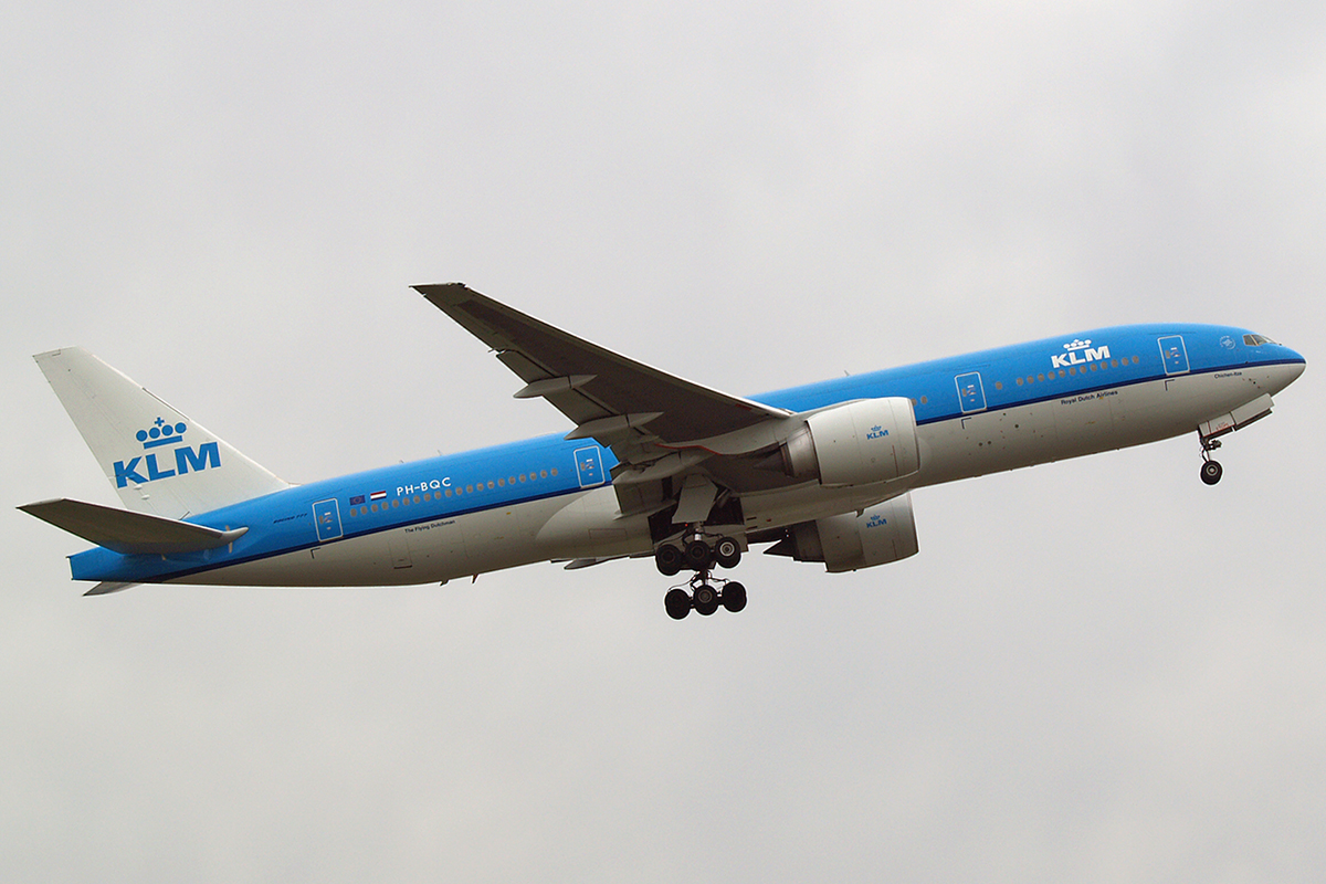 B777-206/ER KLM - Royal Dutch Airlines PH-BQC Amsterdam Schiphol April_15_2006